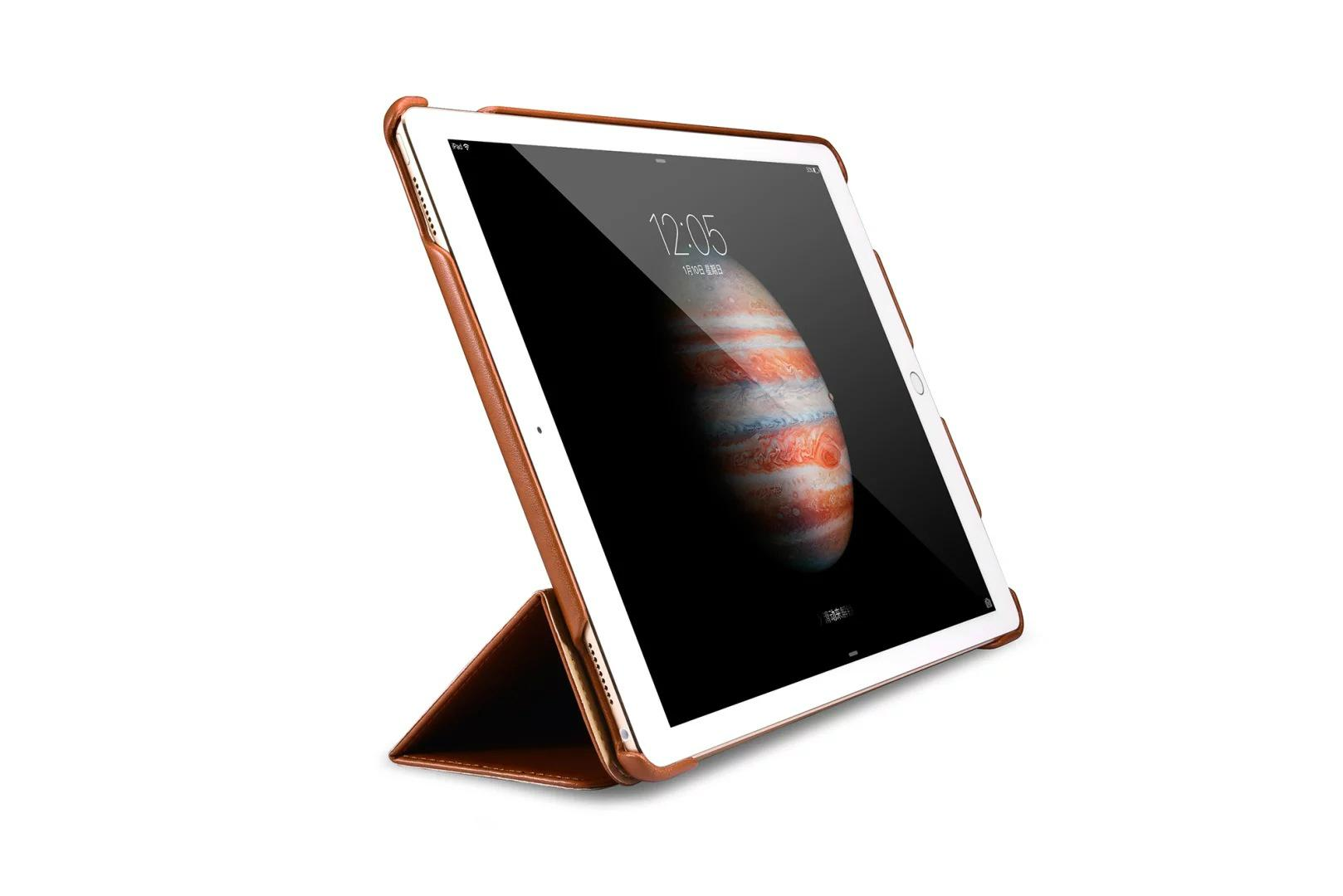 iCarer iPad Pro 12.9 inch Business Multi-credit cards Tablet PU Leather Case 7