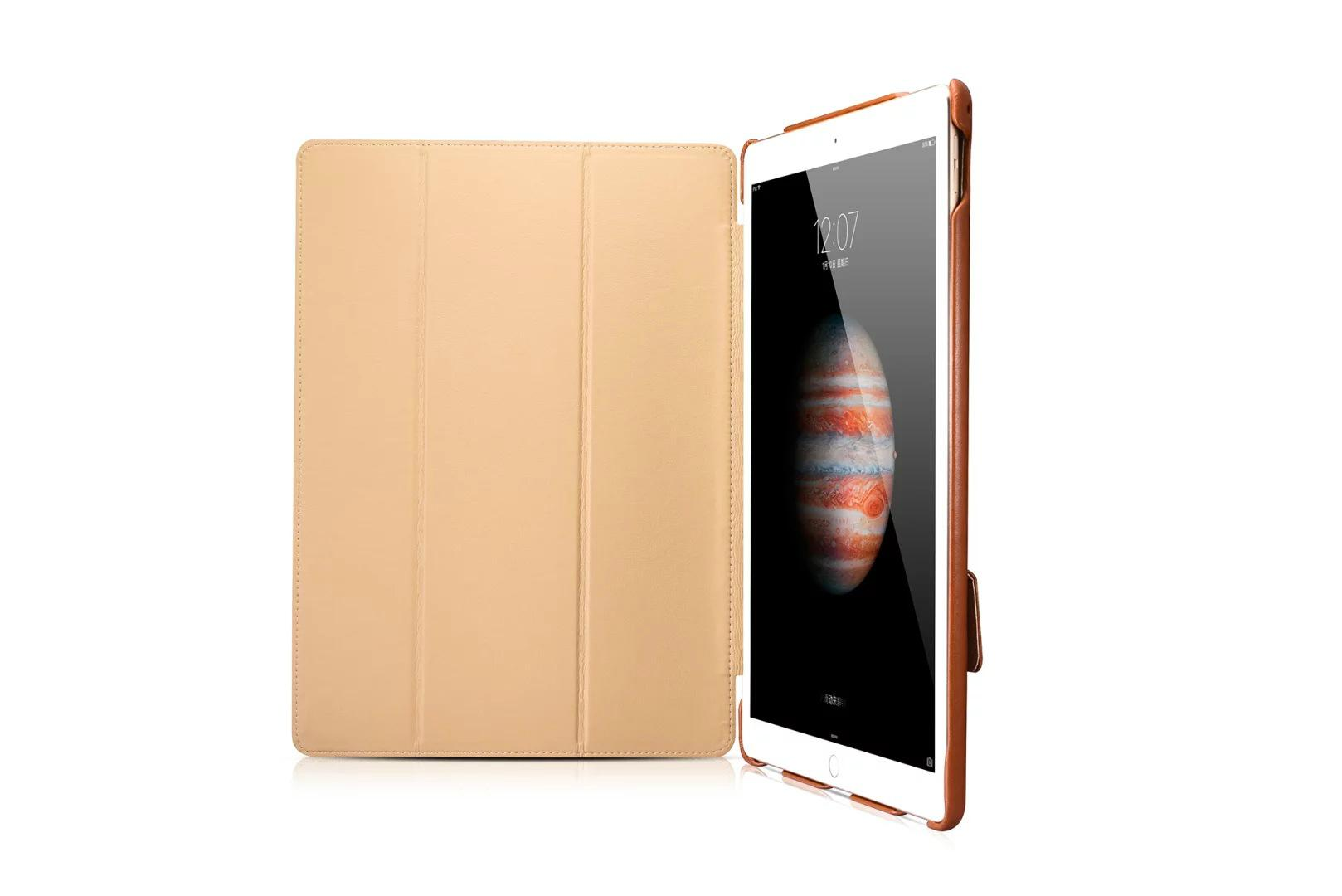 iCarer iPad Pro 12.9 inch Business Multi-credit cards Tablet PU Leather Case 10