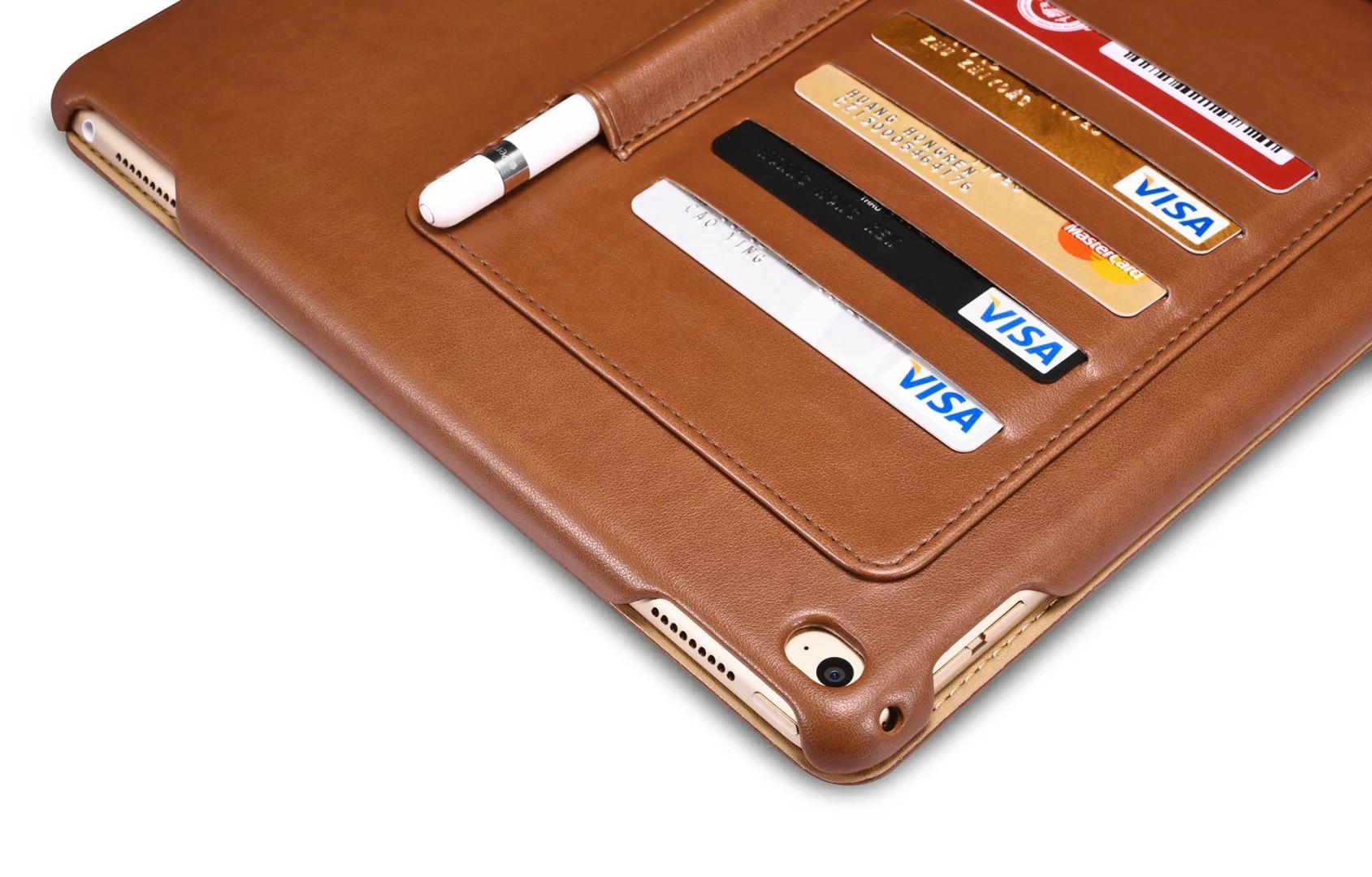 iCarer iPad Pro 12.9 inch Business Multi-credit cards Tablet PU