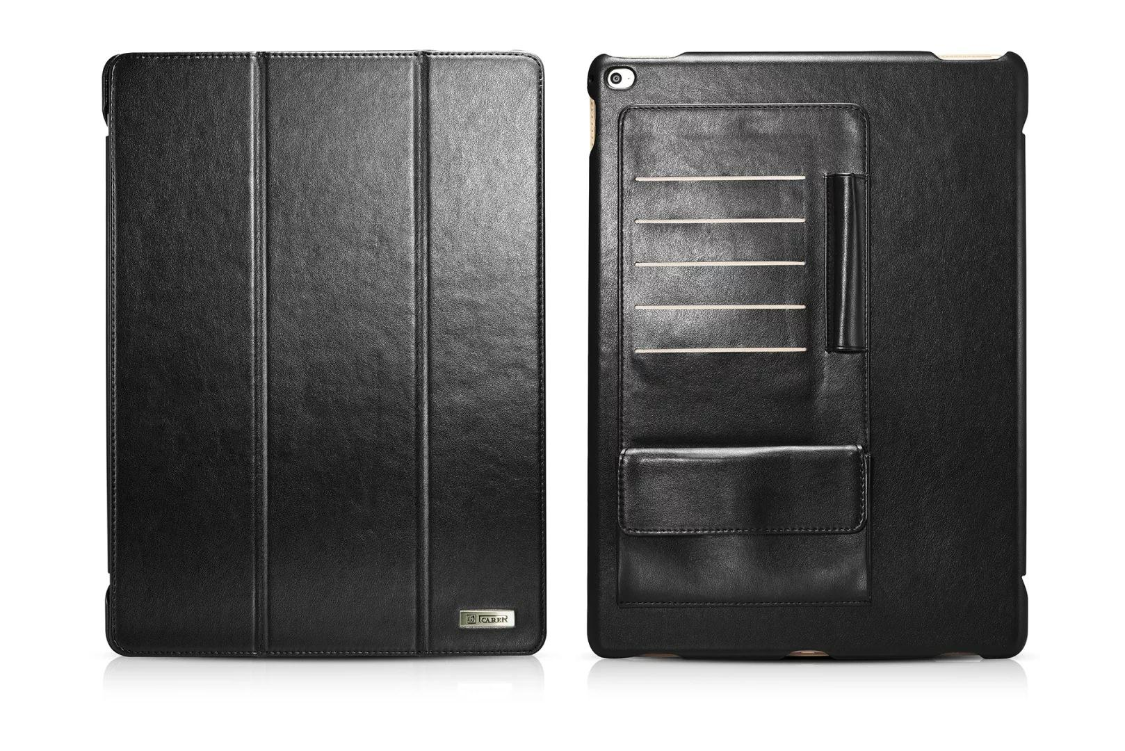 iCarer iPad Pro 12.9 inch Business Multi-credit cards Tablet PU Leather Case 20