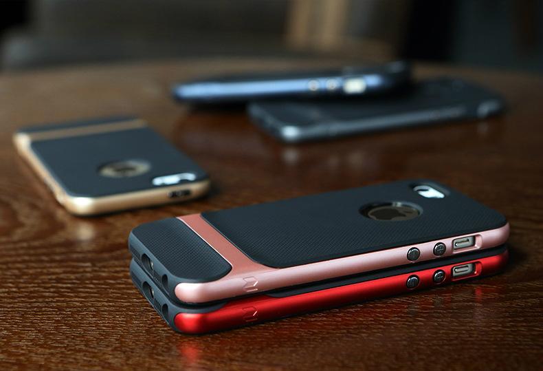 2017 ROCK iPhone SE Case, iPhone 5S Shockproof Case 10