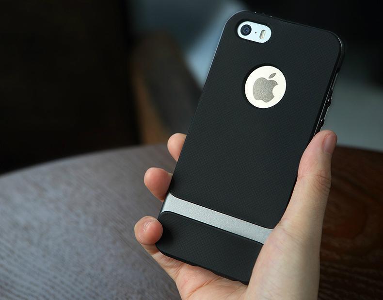 2017 ROCK iPhone SE Case, iPhone 5S Shockproof Case 11