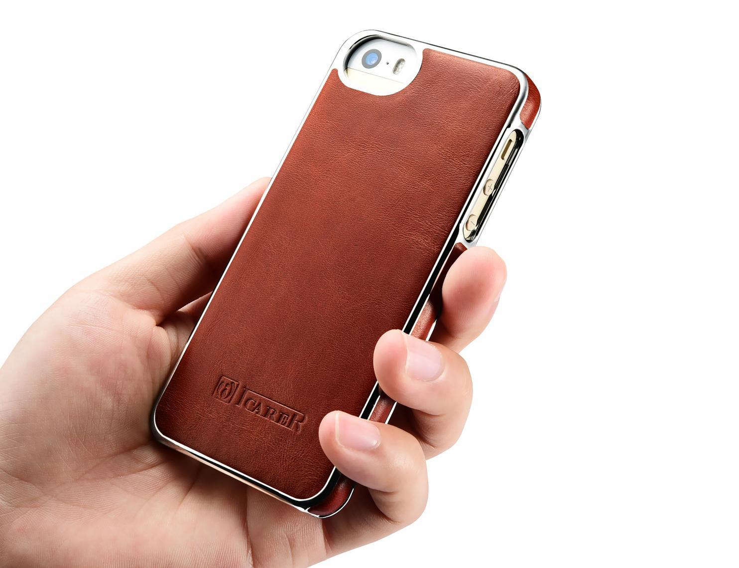 Iphone Se Leather Cover