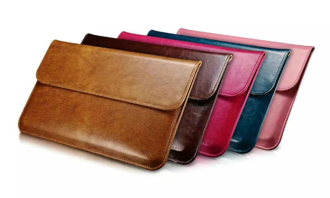 iCarer Genuine Leather Series Sleeve Bag For Apple Macbook Air 20