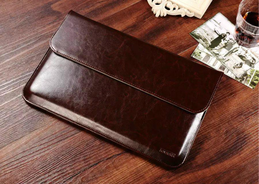 iCarer Genuine Leather Series Sleeve Bag For Apple Macbook Air 2