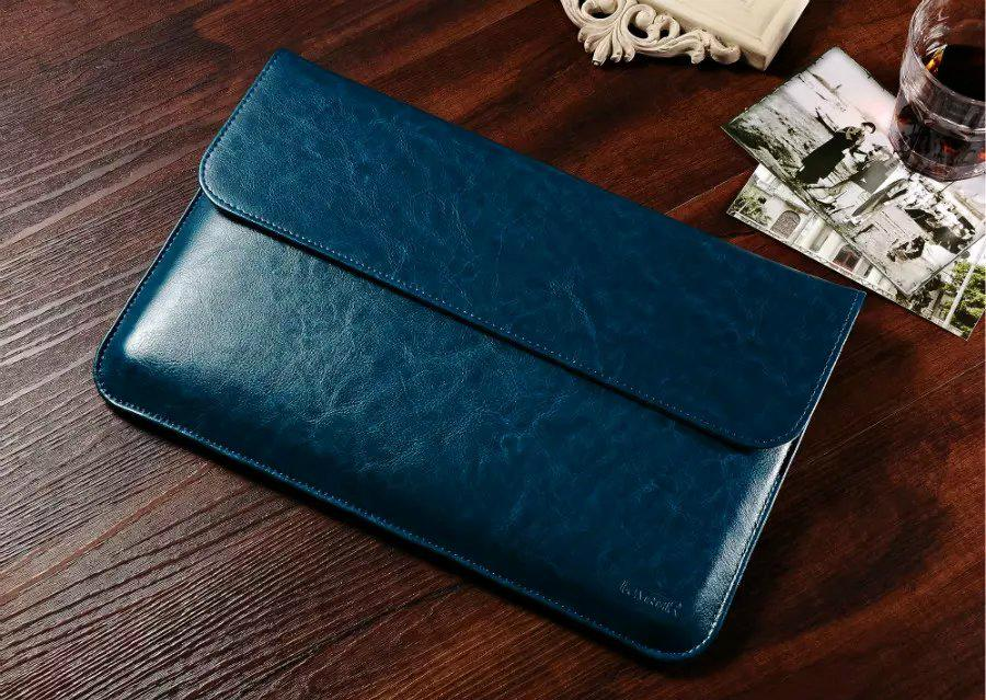 iCarer Genuine Leather Series Sleeve Bag For Apple Macbook Air 5
