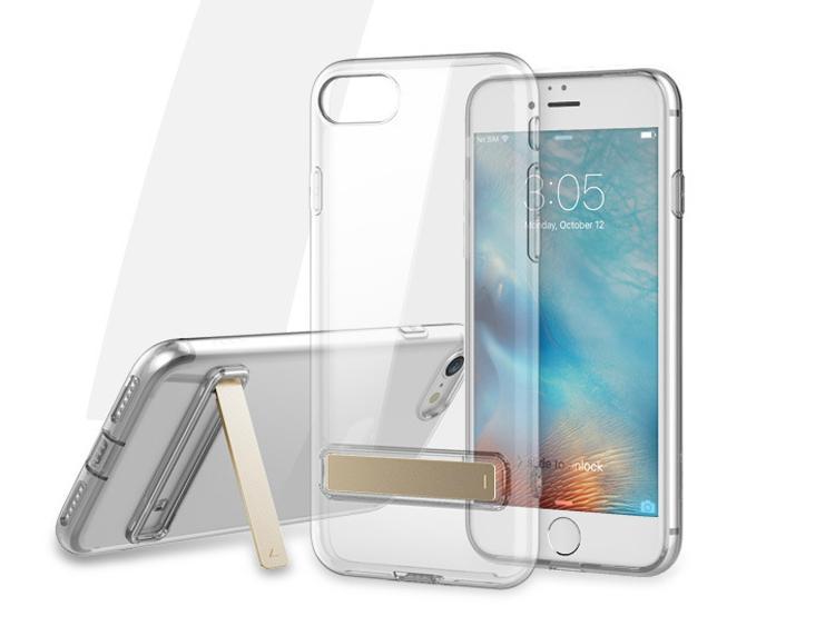 ROCK iPhone 7 TPU Slim Jacket Kickstand Case 1