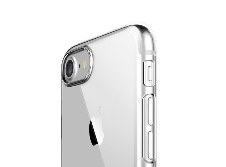 ROCK iPhone 7 TPU Slim Jacket Kickstand Case 3