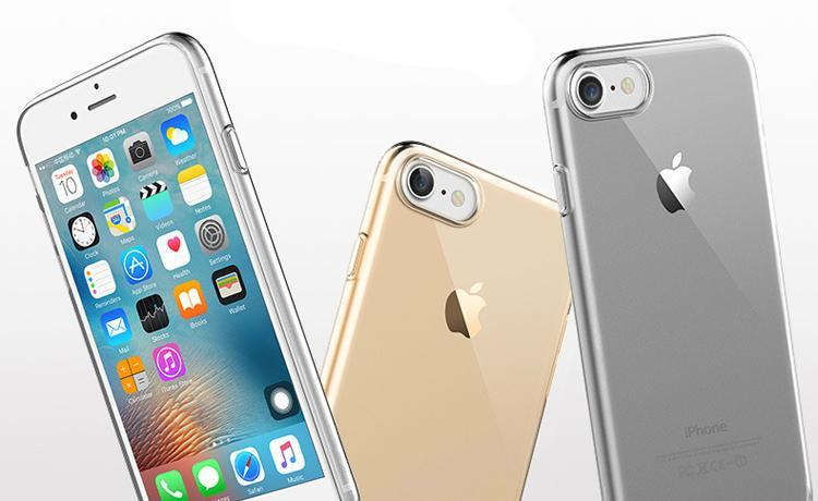 ROCK iPhone 7 TPU Slim Jacket Kickstand Case 2