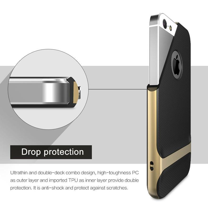 2017 ROCK iPhone SE Case, iPhone 5S Shockproof Case 9