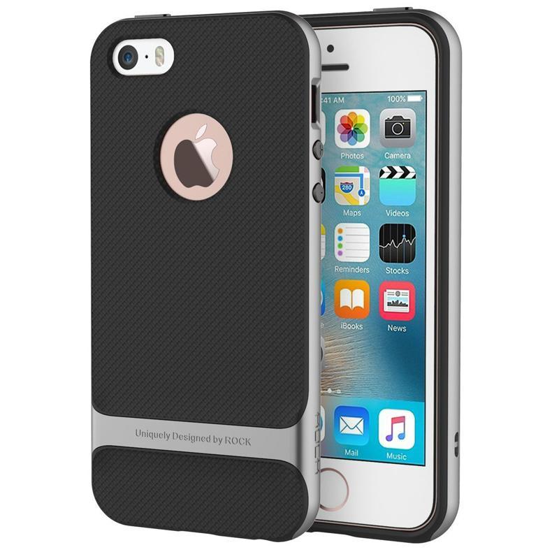 2017 ROCK iPhone SE Case, iPhone 5S Shockproof Case 4