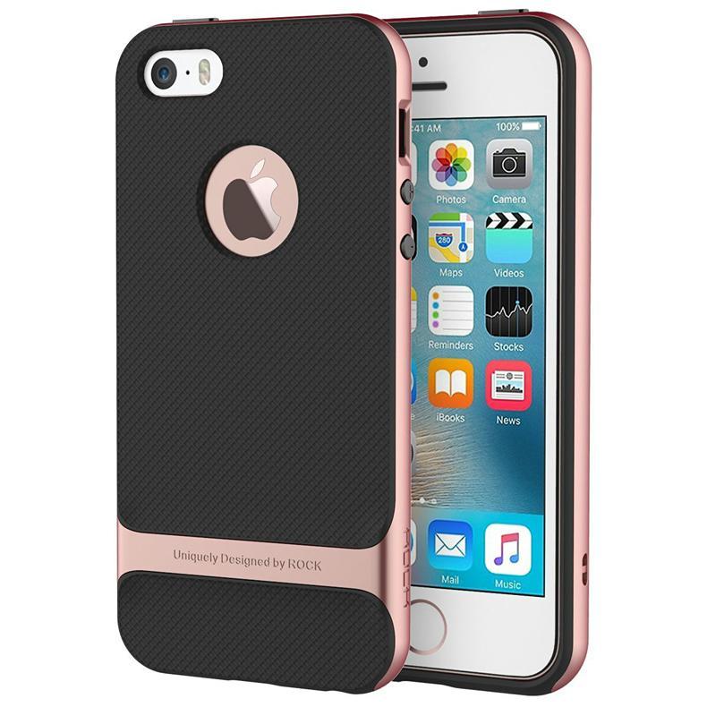 2017 ROCK iPhone SE Case, iPhone 5S Shockproof Case 5