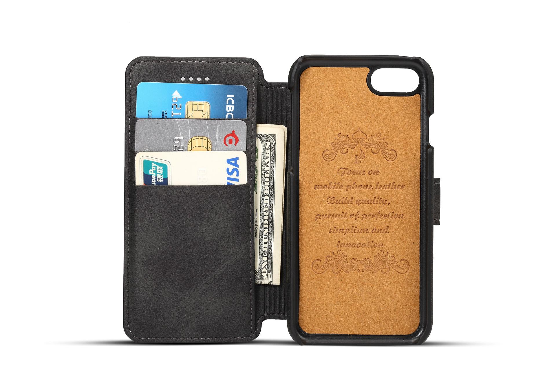 Apple iPhone 7 Flip Cover Stand Wallet Case 7