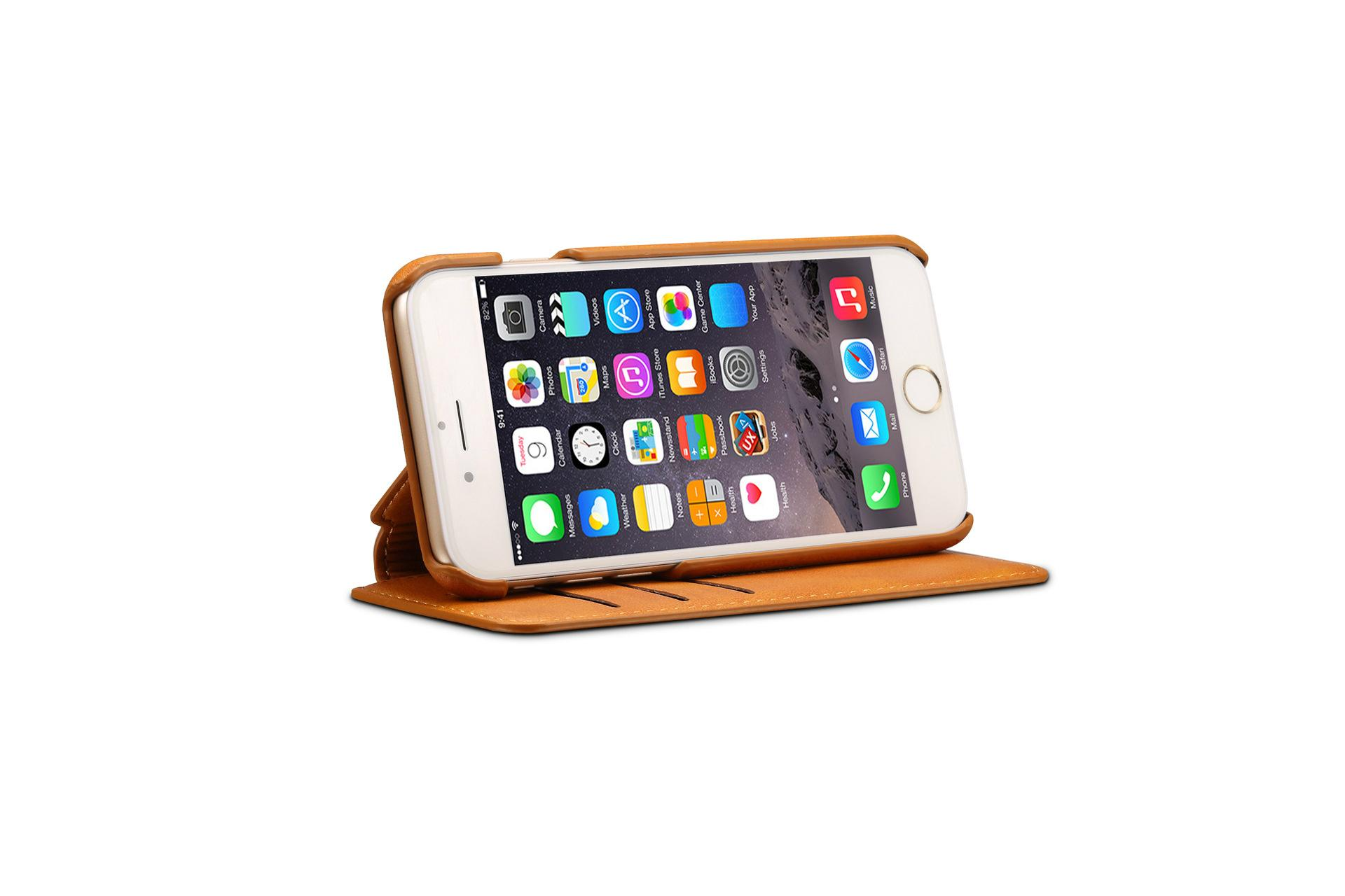 Apple iPhone 7 Flip Cover Stand Wallet Case 13