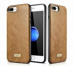 iCarer iPhone 7 Plus Shenzhou Genuine Leather Fashional Back Cover Case