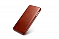 iCarer iPhone 7 Plus Curved Edge Vintage Series Genuine Leather Case 10