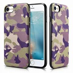 Xoomz iPhone 7 Genuine Leather Back Case