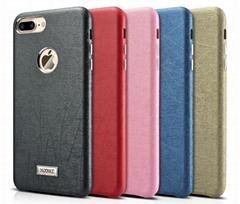 Xoomz iPhone 7 Plus Leather Back Case
