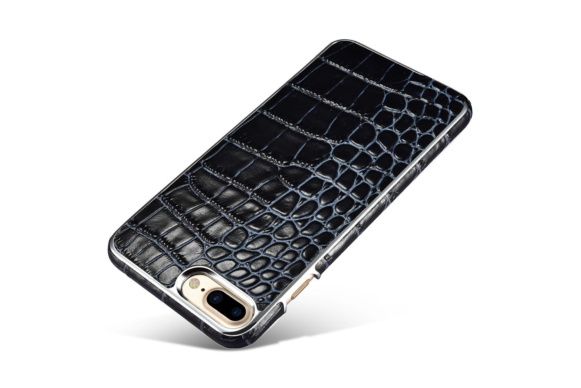 Xoomz iPhone 7 Plus Crocodile Pattern Back Case 7