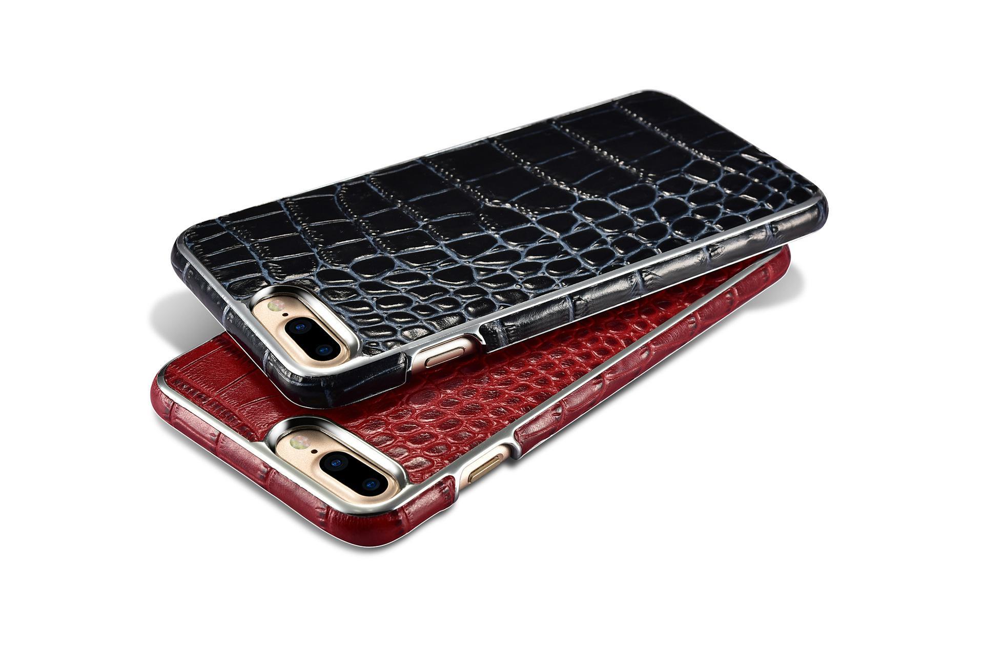 Xoomz iPhone 7 Plus Crocodile Pattern Back Case 19