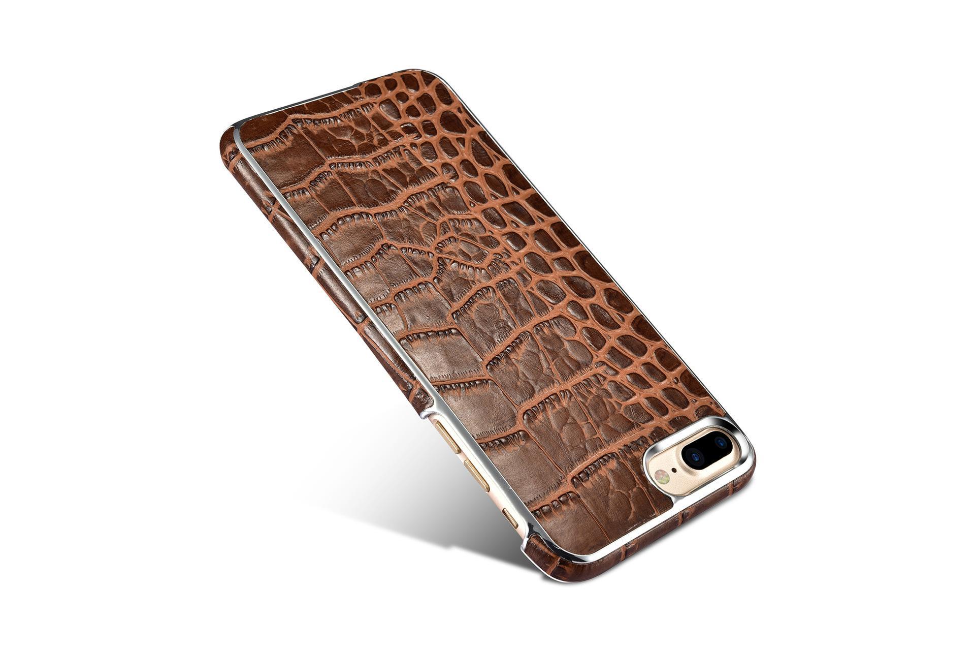 Xoomz iPhone 7 Plus Crocodile Pattern Back Case 14
