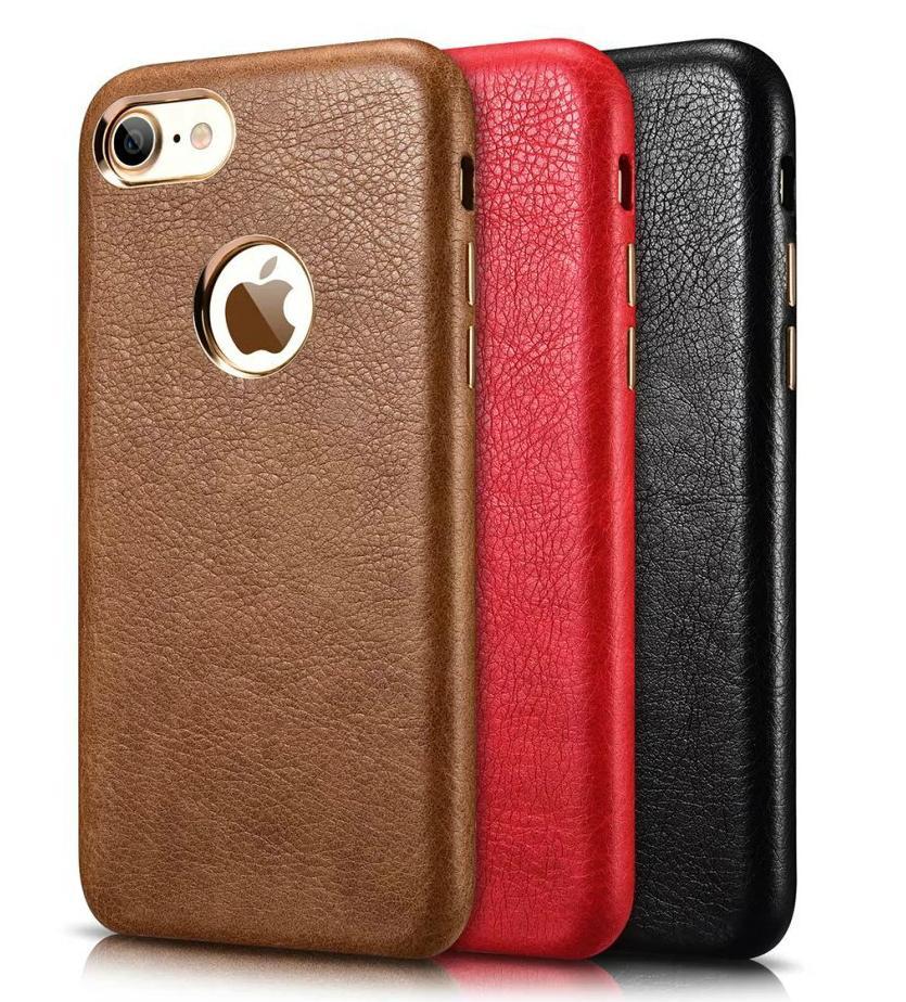Xoomz iPhone 7 PU Leather Back Case 1