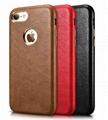 Xoomz iPhone 7 PU Leather Back Case