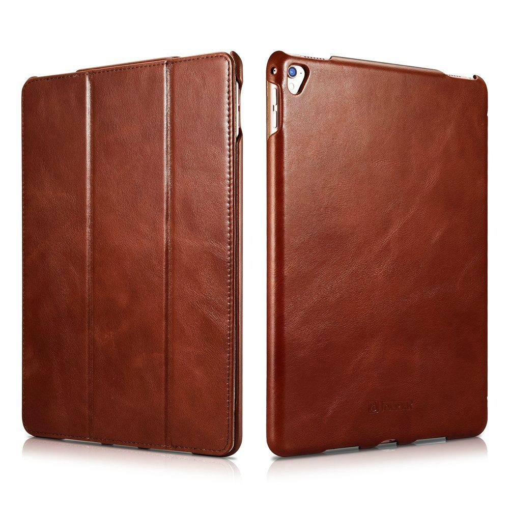 iCarer iPad Pro 9.7 inch Vintage Series Side Open Genuine Leather Case 1