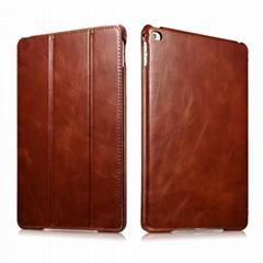 iCarer Apple iPad Air 2/ iPad 6 Leather Folio Kickstand Case