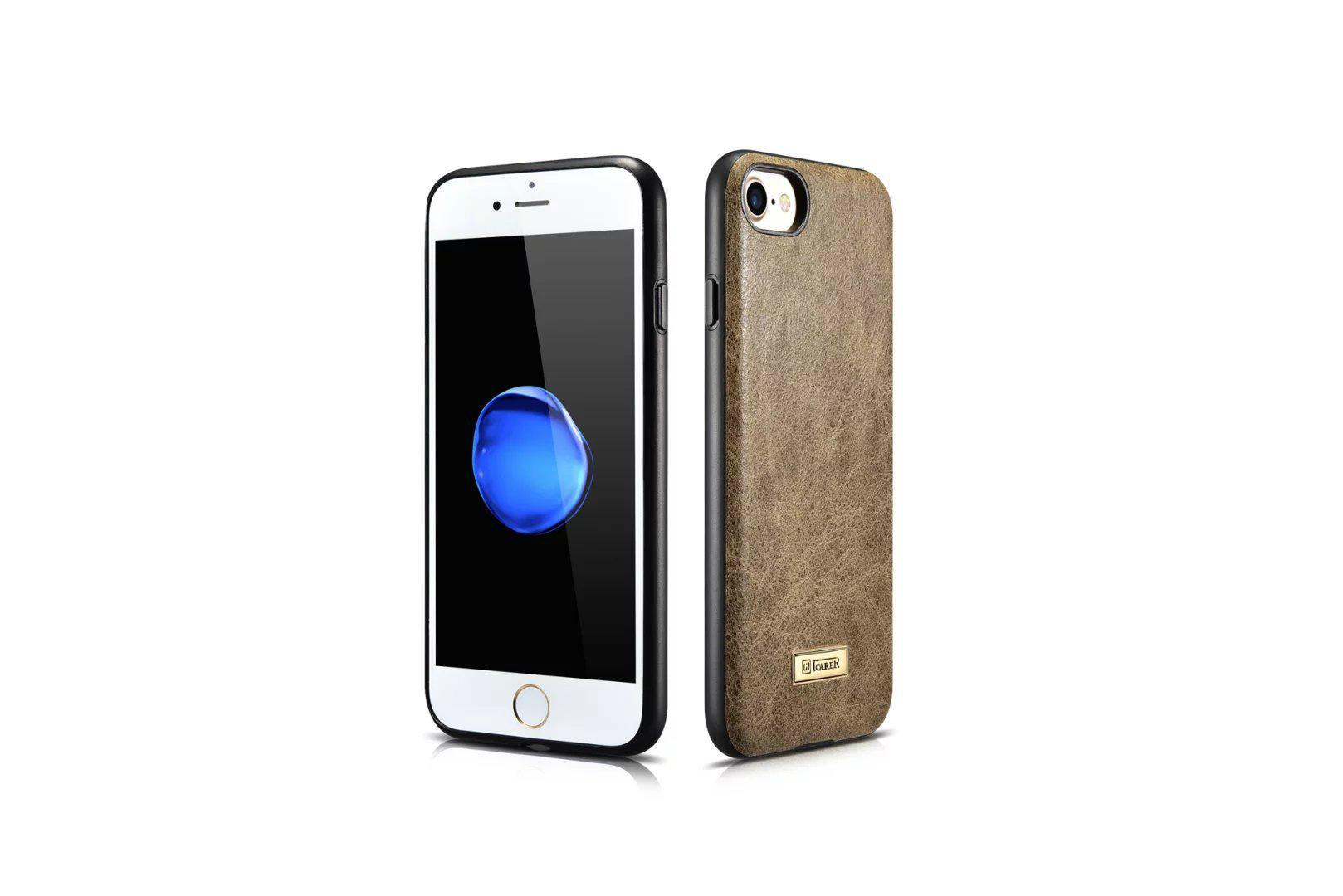 iCarer iPhone 7 Shenzhou Genuine Leather Fashional Back Cover Case 6
