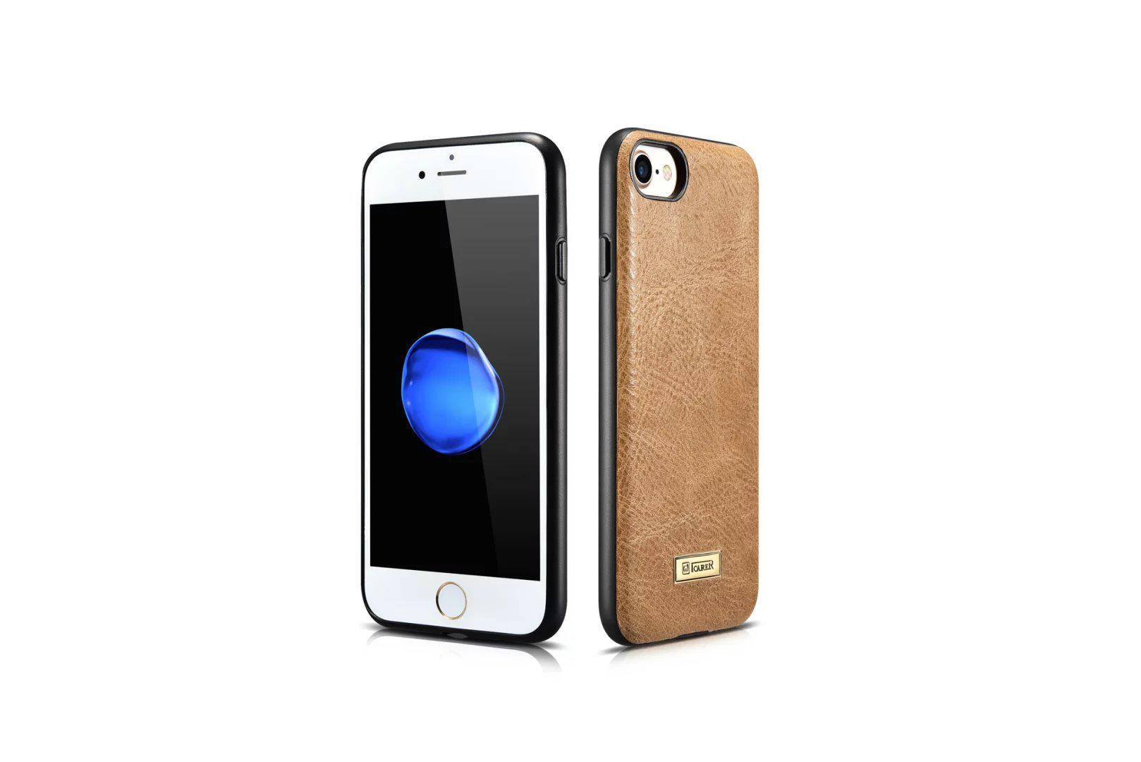 iCarer iPhone 7 Shenzhou Genuine Leather Fashional Back Cover Case 7