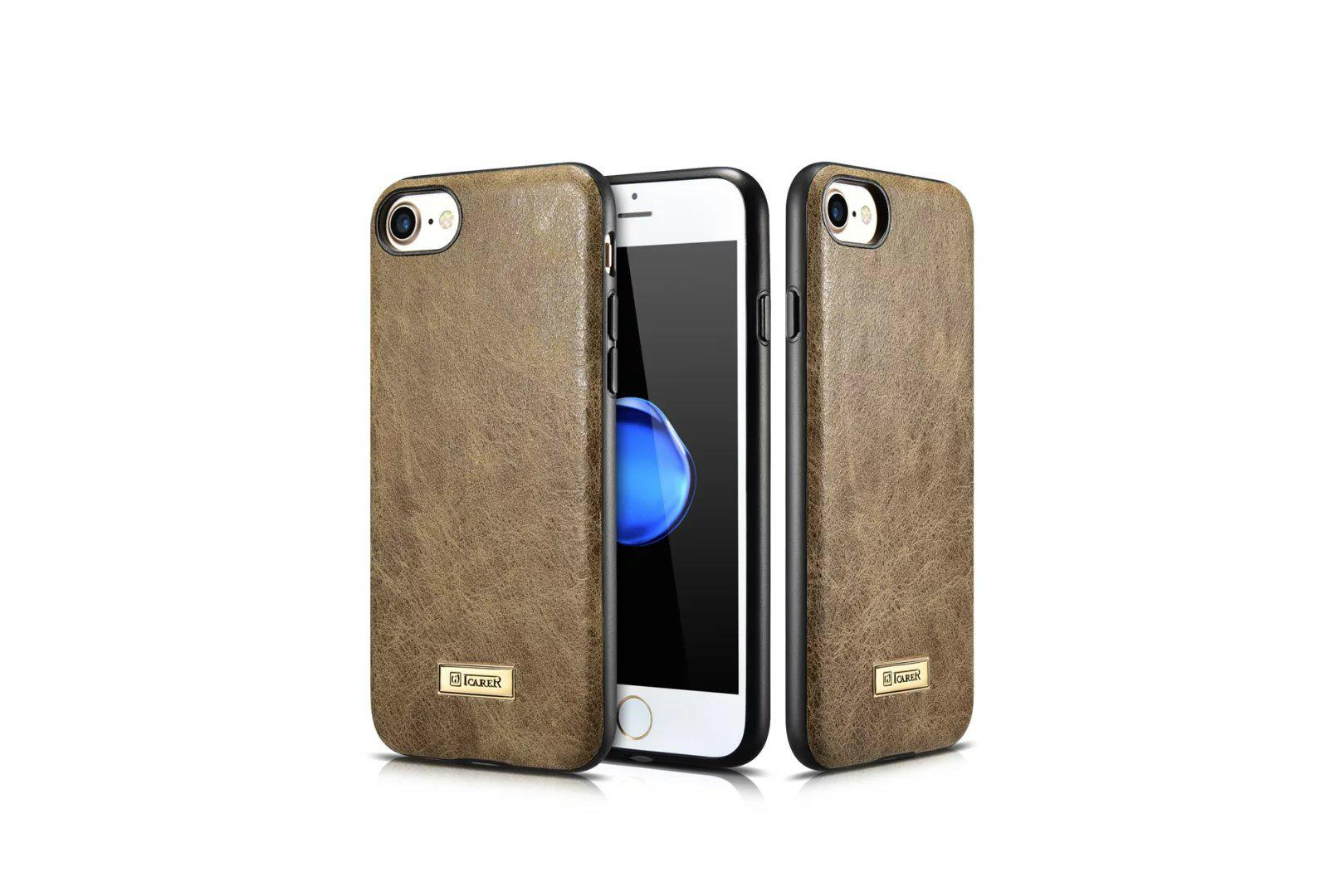 iCarer iPhone 7 Shenzhou Genuine Leather Fashional Back Cover Case 8