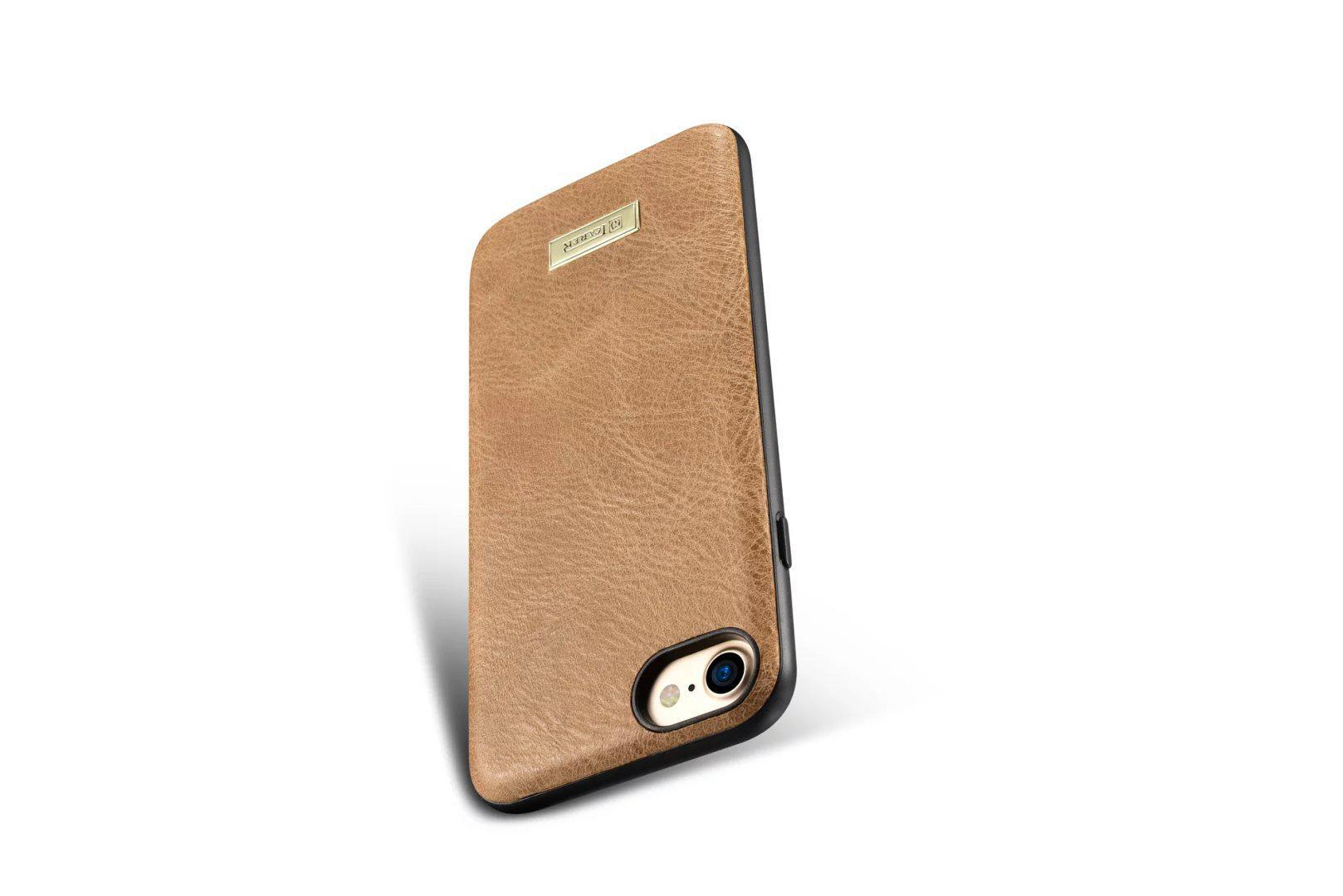 iCarer iPhone 7 Shenzhou Genuine Leather Fashional Back Cover Case 12