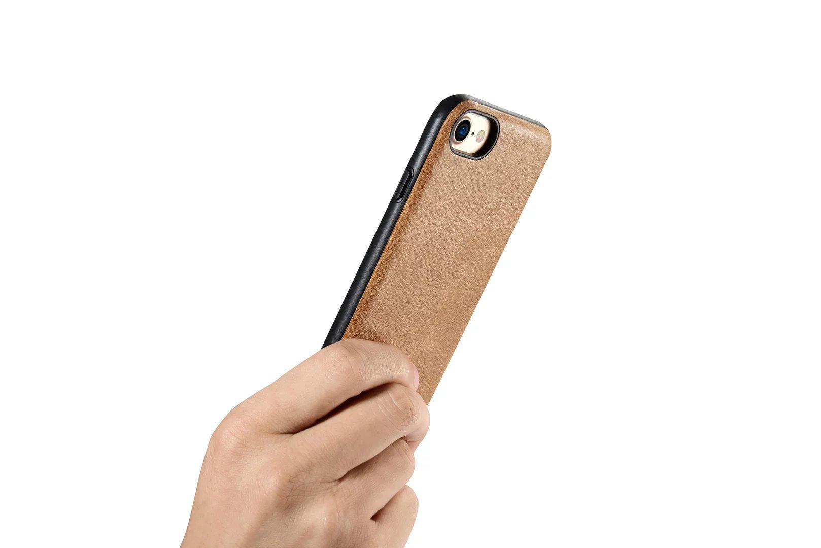 iCarer iPhone 7 Shenzhou Genuine Leather Fashional Back Cover Case 15