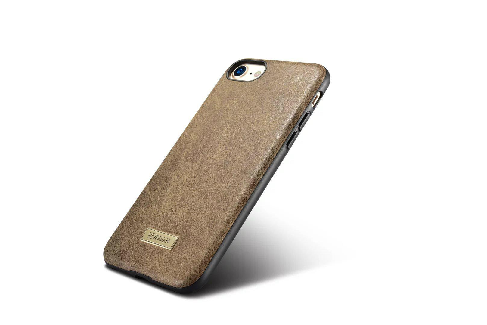 iCarer iPhone 7 Shenzhou Genuine Leather Fashional Back Cover Case 11
