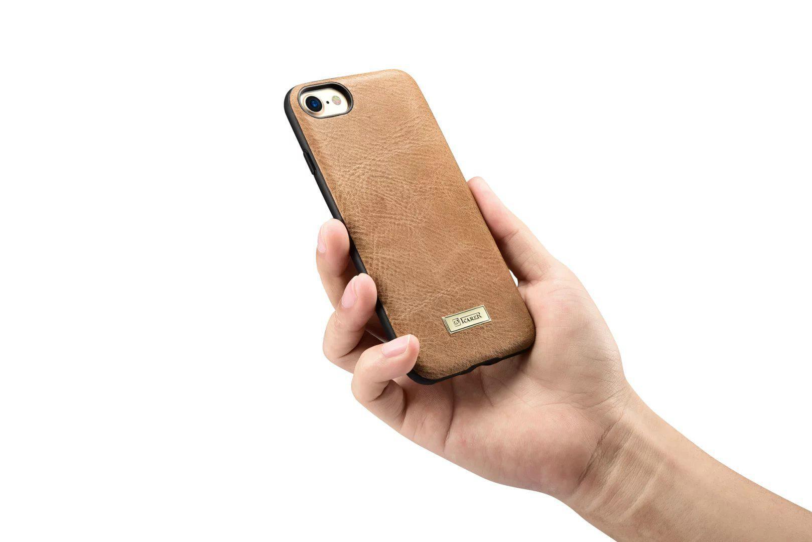iCarer iPhone 7 Shenzhou Genuine Leather Fashional Back Cover Case 14