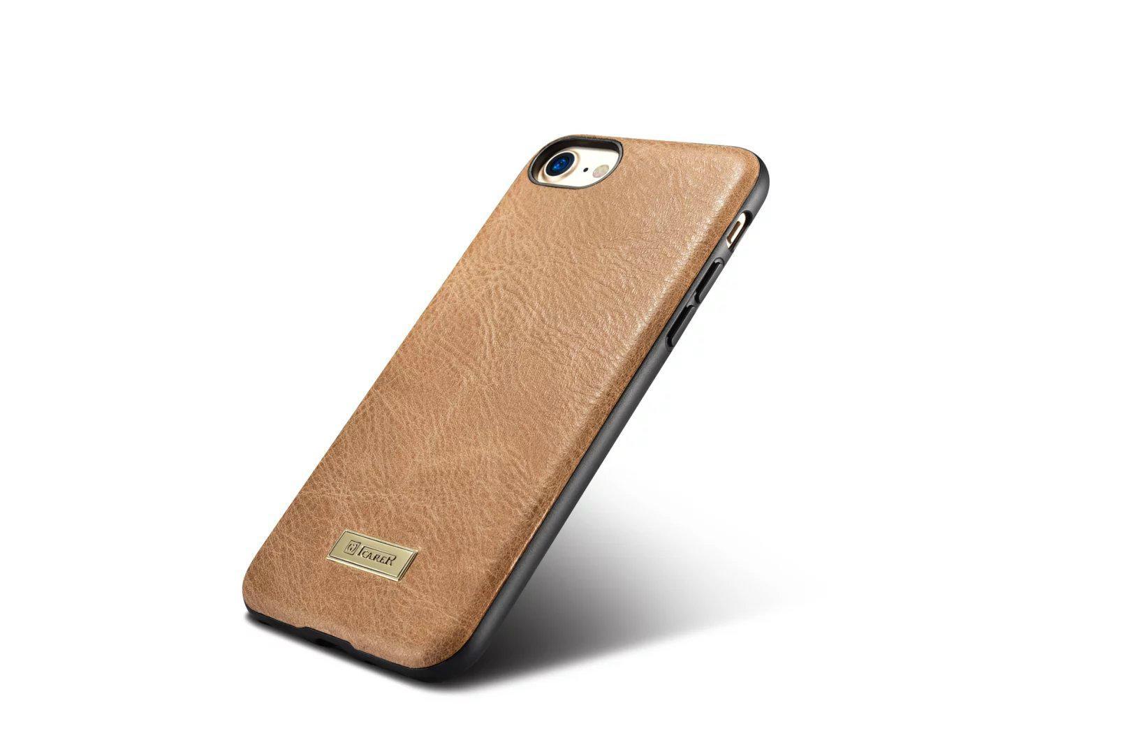 iCarer iPhone 7 Shenzhou Genuine Leather Fashional Back Cover Case 10