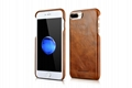 iCarer iPhone 7 Plus Metal Warrior Oil Wax Real Leather Back Case 3