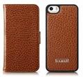 iCarer iPhone SE/5S/5 Side Open Card-Slot Wallet Case