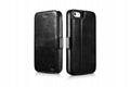 2017 iCarer iPhone SE/5S/5 Vintage Wallet Case with Two Credit Cards Slot Design 3