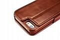 2017 iCarer iPhone SE/5S/5 Vintage Wallet Case with Two Credit Cards Slot Design