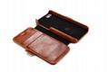 2017 iCarer iPhone SE/5S/5 Vintage Wallet Case with Two Credit Cards Slot Design 16