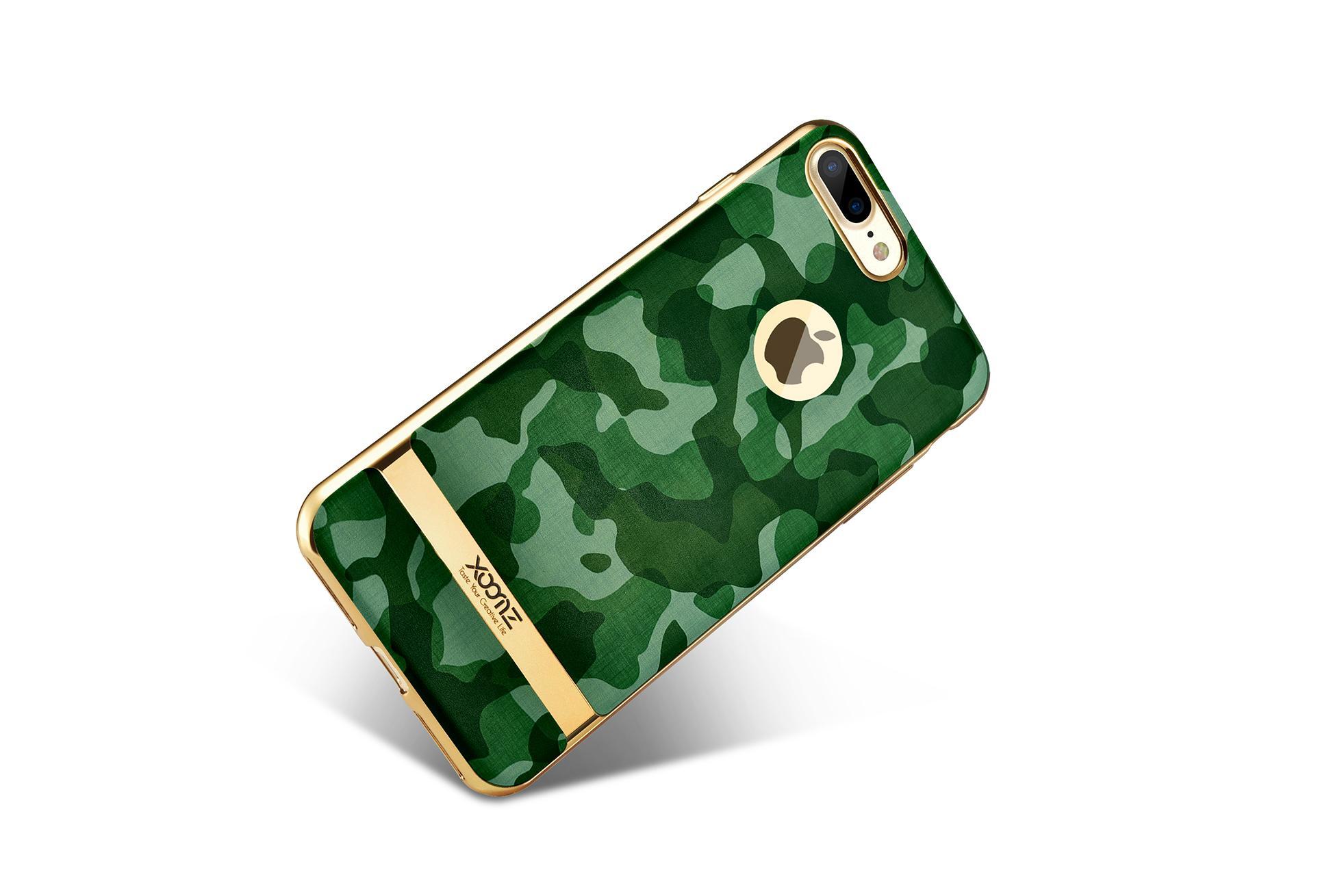 Xoomz iPhone 7 Plus Camouflage Pattern 3D Electroplating TPU Back Case 12