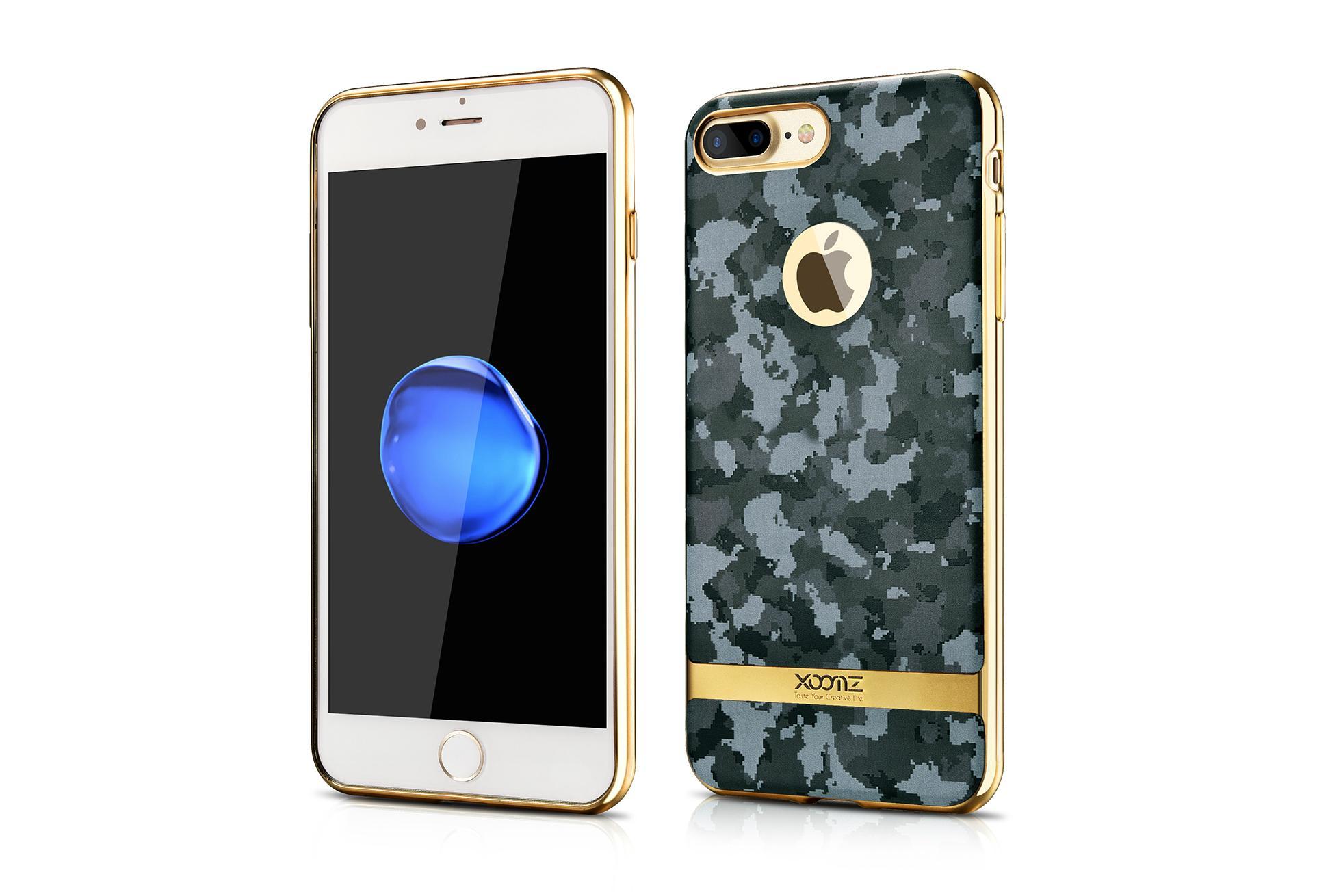 Xoomz iPhone 7 Plus Camouflage Pattern 3D Electroplating TPU Back Case 2