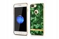 Xoomz iPhone 7 Plus Camouflage Pattern 3D Electroplating TPU Back Case 4