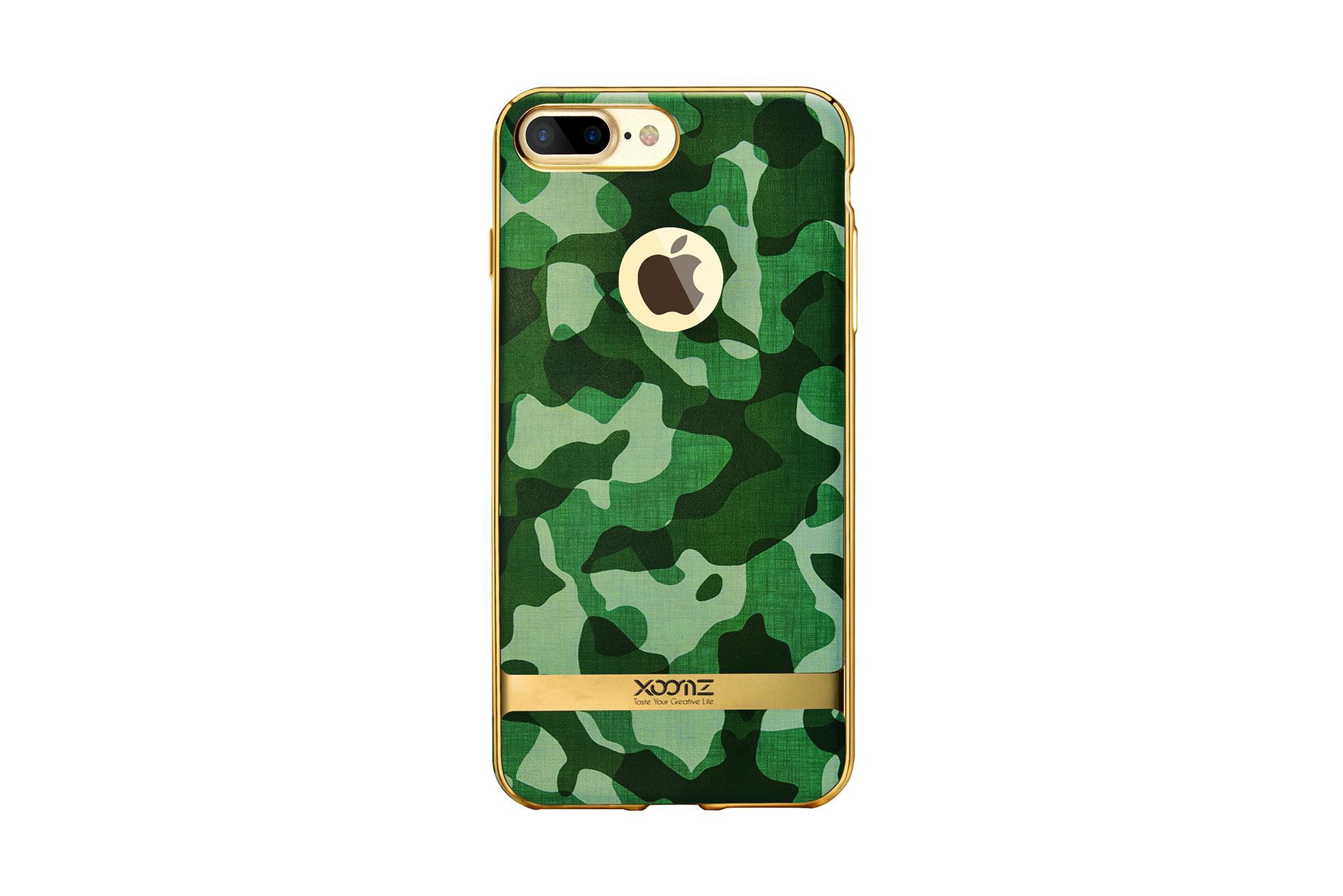 Xoomz iPhone 7 Plus Camouflage Pattern 3D Electroplating TPU Back Case 7