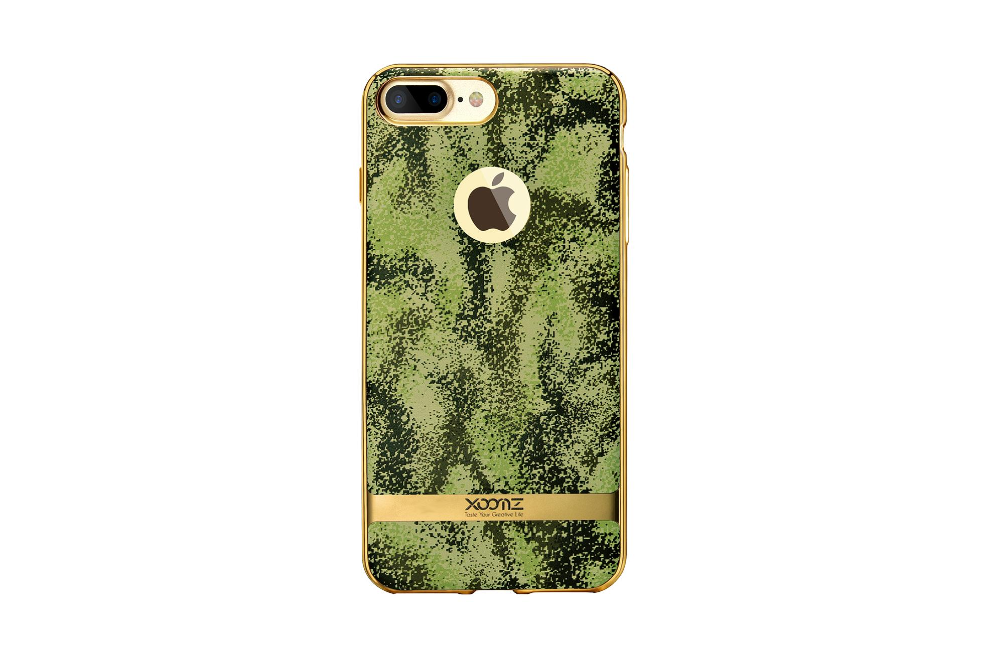 Xoomz iPhone 7 Plus Camouflage Pattern 3D Electroplating TPU Back Case 6