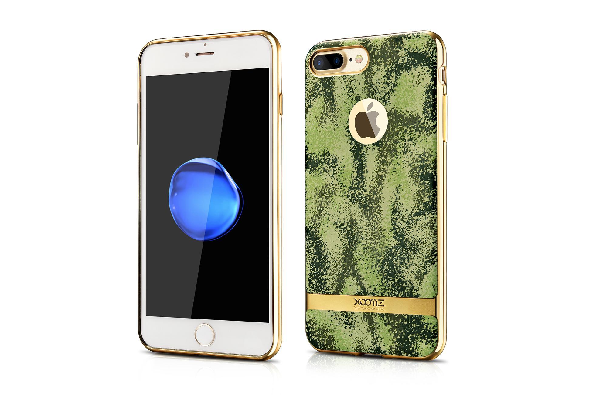 Xoomz iPhone 7 Plus Camouflage Pattern 3D Electroplating TPU Back Case 3
