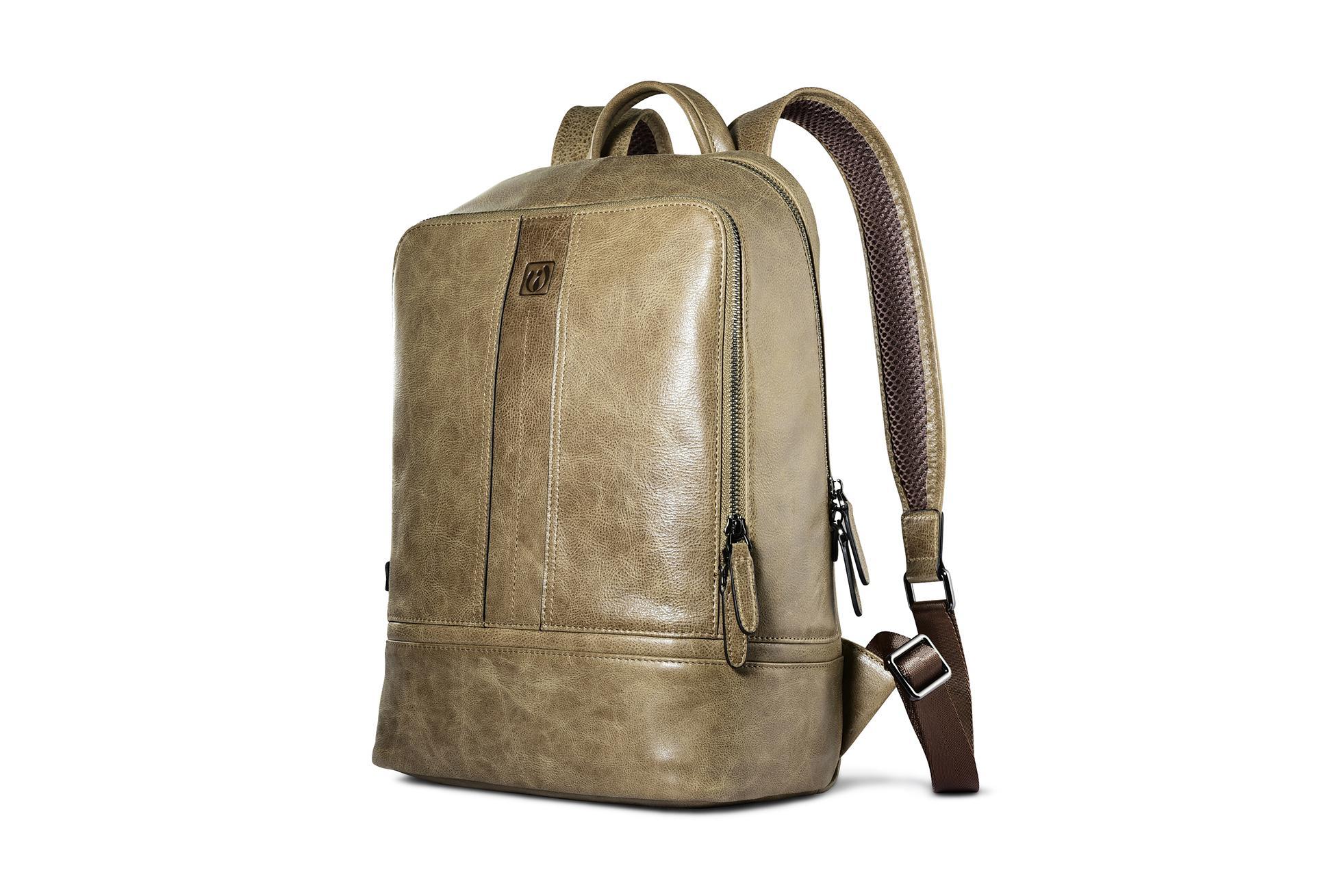 iCarer Shenzhou Real Leather Backpack 3