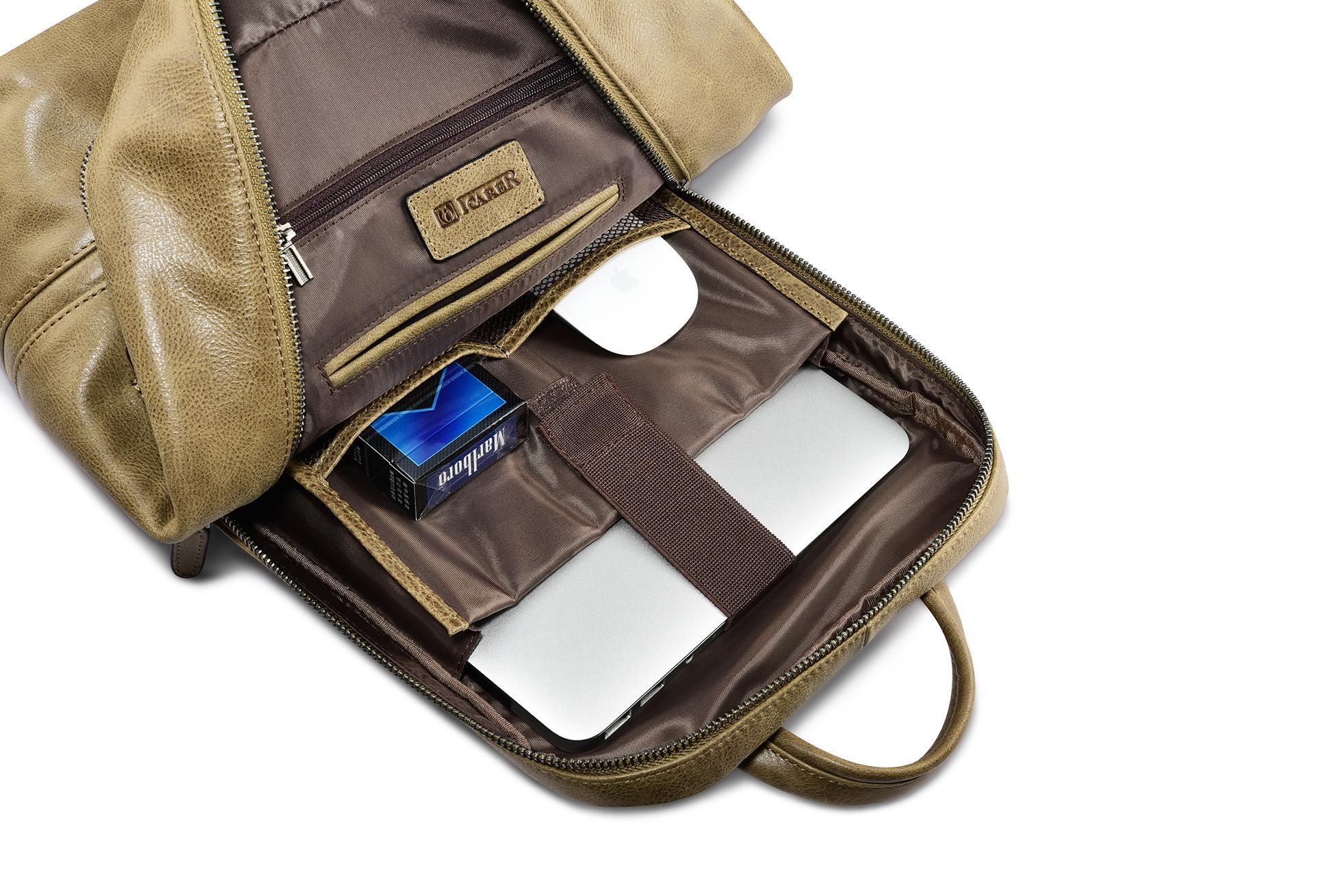 iCarer Shenzhou Real Leather Backpack 10